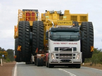 Перевозка негабаритных грузов на автомобилях