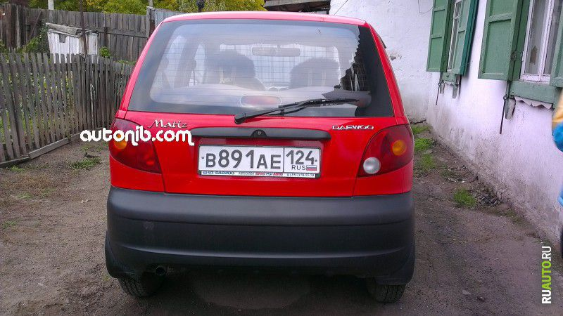 Купить Daewoo Matiz 2009 года в городе Красноярск