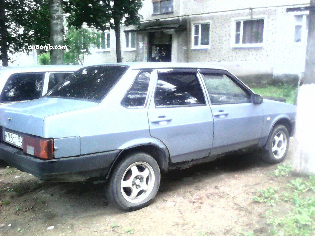 Купить ВАЗ 21099 2002 года в городе Солнечногрск